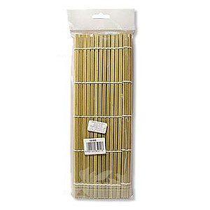 Esteira feita de bambu para enrolar os sushis.
