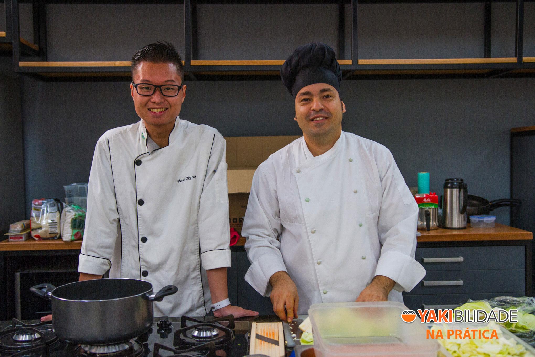 Turma 01 - Curso de Culinária Japonesa Yakibilidade na Prática 02